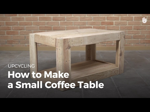 DIY Project Ideas: Reclaimed Wood Table | Upcycling