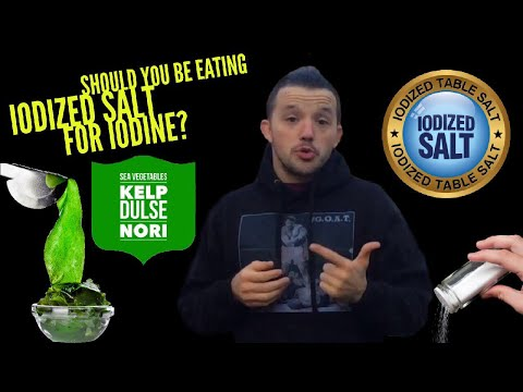 Should You Be Eating Iodized Salt For Iodine? | #AskMikeTheCaveman Part 184