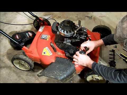 Murray push mower surging fix