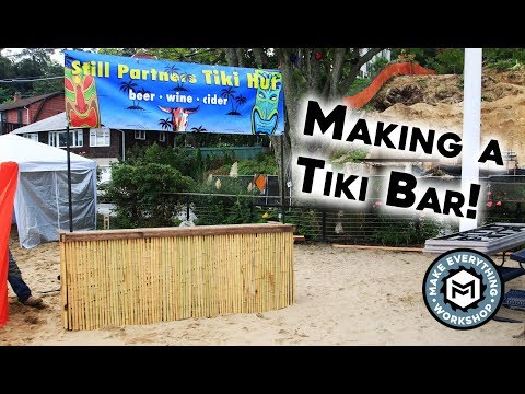 Making A Collapsible Tiki Bar!