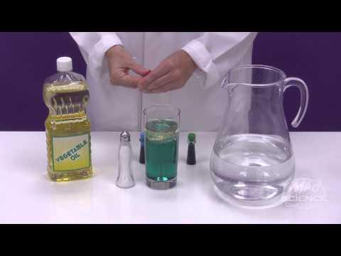 Make a Salt Lava Lamp - Mad Science