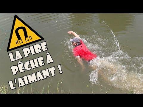 LA PIRE PÊCHE A L'AIMANT DE FRANCE - MAGNET FISHING