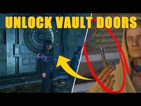 Final Fantasy XV - How To Open The VAULT DOORS (Secret Dungeons) FFXV