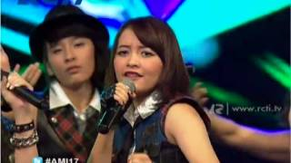 """JKT48  """"River"""" - AMI Awards 2014 ----------------------------------------------- Subscribe RCTI Channel Official Youtube: https://www.youtube.com/user/RCTIOfficialChannel ----------------------------------------------- [Visit RCTI Official Pages] Homepage : http://rcti.tv Twitter       : https://twitter.com/OfficialRCTI Facebook  : https://www.facebook.com/OfficialRCTI.TV Instagram : http://instagram.com/officialrcti Mobile Apps: mobile.rcti.tv"""