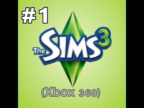 Sims 3 Xbox 360!| Ep.1- Creating a family :)
