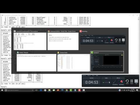 Handling Null values in Mysql