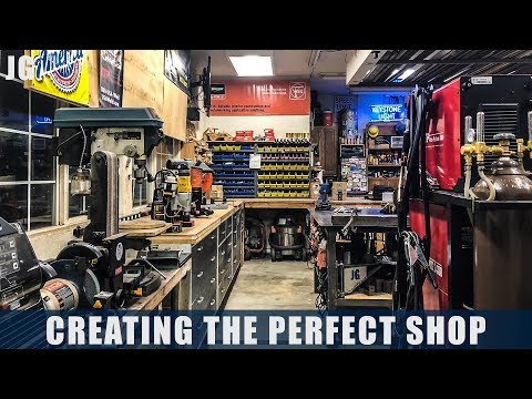 Reorganizing the Shop| JIMBO'S GARAGE