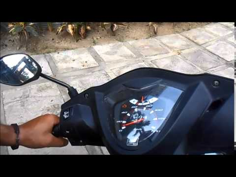 How to start an automatic scooter