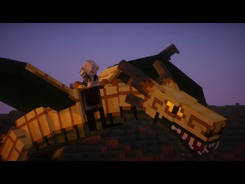 Minecraft Ice and Fire DRAGONS (Game of Thrones Mod)