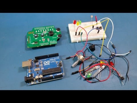 T4D #130 - Kit-on-a-Shield for Arduino and news.