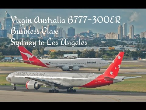 Virgin Australia Business Class Sydney to Los Angeles