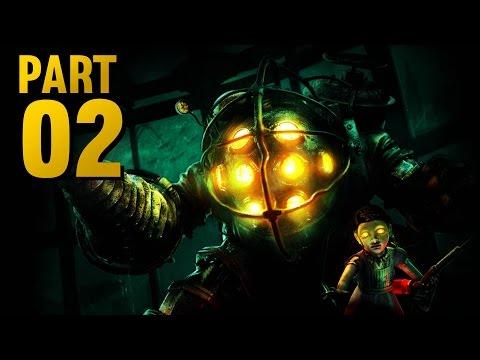 BIOSHOCK REMASTERED Walkthrough - Part 2 - ZAP EM AND WHACK EM! (Xbox One Gameplay)