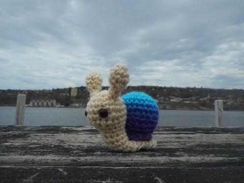 Amigurumi Crochet Snail Tutorial