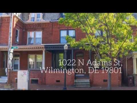 Wilmington Delaware House For Sale : 1022 N Adams St, Wilmington, DE 19801