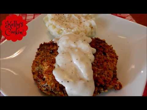 Air Fryer Country Fried Steak/Chicken Fried Steak Recipe