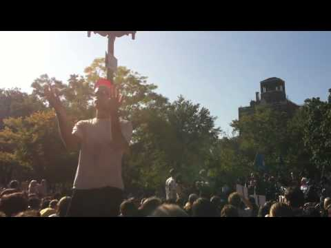 OWS Washington Sq Human Mic