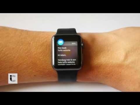 E-mail lezen op de Apple Watch