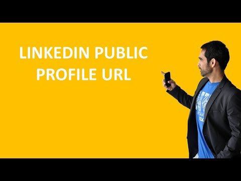 How to change or customize your public profile URL on LinkedIn