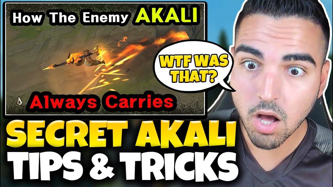 """Koreans Discovered a NEW Akali Mechanic! Reacting to """"SECRET Akali Tips & Tricks"""" By LoL Dobby"""