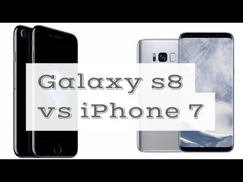 Galaxy S8 vs iPhone 7 | Galaxy S8 plus (edge) vs iPhone 7 Plus | review