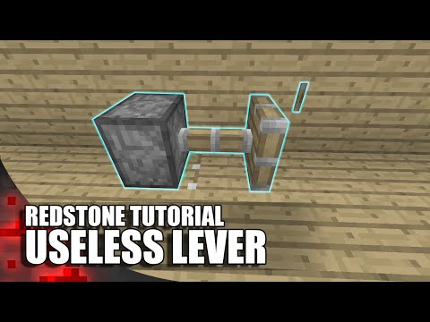 Minecraft: Useless Lever (Most Accurate One)