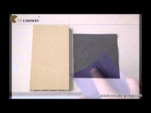 How to repair the pets scratched COOWIN GROUP WPC decking