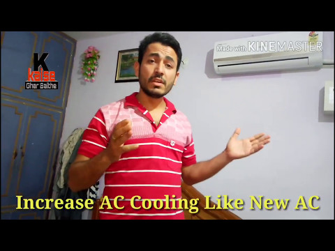 How to Service Air Conditioner at home with necessary precautions . Hindi English DIY. 2018