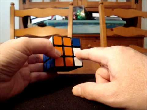 Solve Rubik's Cube without memorization - Part 6 - Different ways to begin a commutator