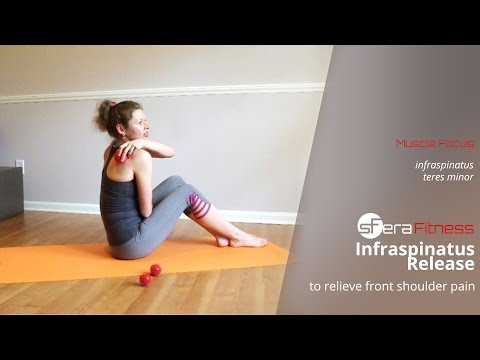 Infraspinatus Trigger Point Release to Relieve Front Shoulder Pain