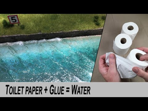 Ocean water with realistic waves LOW COST - Detailed guide DIY