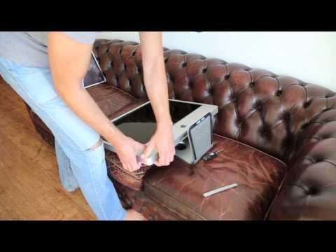 iMac DVD drive coaster removal