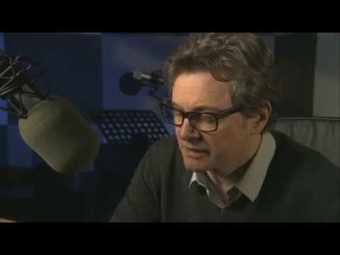 Colin Firth Reading 'The End of the Affair' (Audiobook) - Behind the Scenes Footage - 2