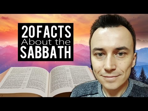 20 FACTS About the SABBATH Every Christian MUST KNOW !!!