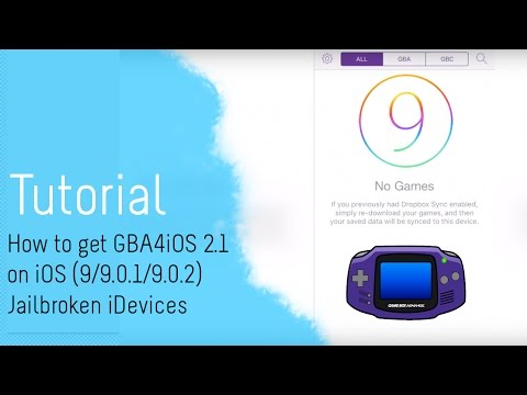 [Tutorial] How to get GBA4iOS 2.1 on iOS (9/9.0.1/9.0.2) Jailbroken iDevices