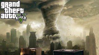 "GTA 5 Mods ""TORNADO MOD"" (GTA 5 TORNADOES VS CITY MOD) (GTA 5 Funny Moments Compilation)"
