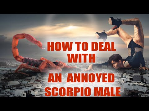 How To Deal With An Angry Scorpio Male   BoldSky