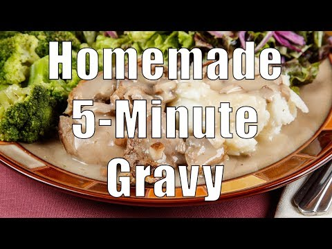 Homemade 5-Minute Gravy (Home Cooking 101) Dituro Productions
