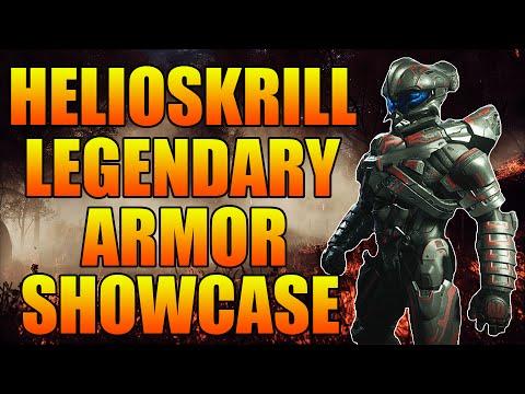 Halo 5: Guardians - HelioSkrill Legendary Armor - SUPER RARE! | How To Unlock HelioSkrill