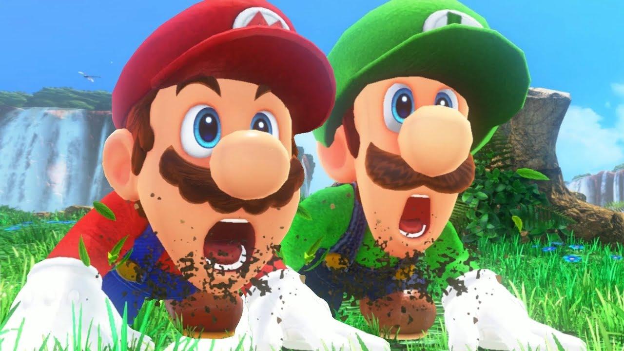Super Mario Odyssey - Full Game Walkthrough (Mario & Luigi)