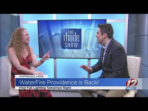 WaterFire Providence celebrates first full lighting of the season
