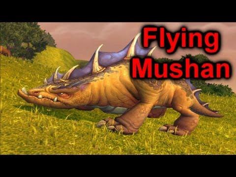 Flying Bugged Mushan | World of Warcraft: Mists of Pandaria