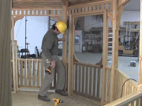 Gazebo Depot Screen Assembly Video VTS 04 1