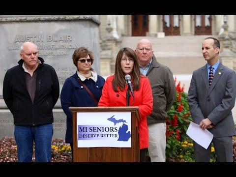 Democratic Representatives Call for Retirement Tax Repeal