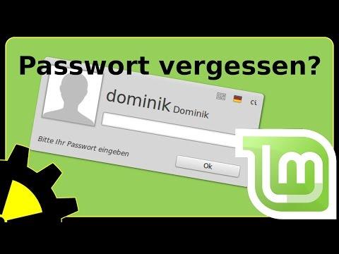 Linux Mint - Vergessenes Passwort zurücksetzen