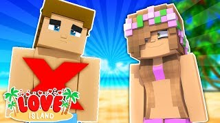 LITTLE KELLY KICKS DONNY OFF THE ISLAND! Minecraft Love Island