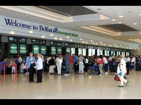 Plane spotting at Belfast International Airport