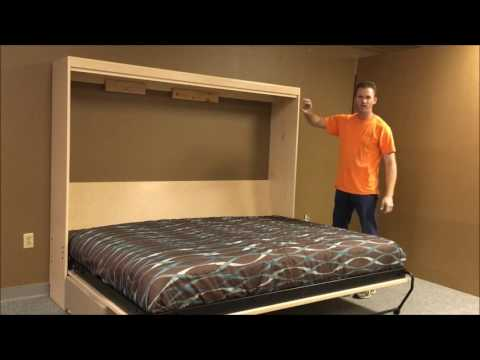 Horizontal Templeton Murphy Bed with Sofa