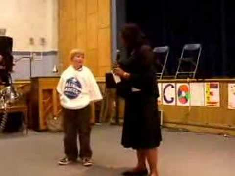Milton boy, 11, wins prize for essay on his cancer fight