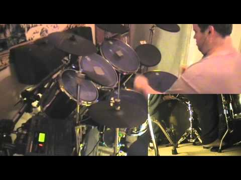 G-Rad: Third Eye Blind - Semi-Charmed Life drum cover with drumless track on DIY Tama e-drums
