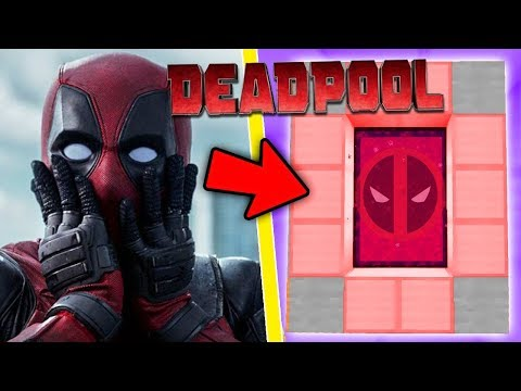 HOW TO MAKE A PORTAL TO THE DEADPOOL DIMENSION - MINECRAFT Deadpool 2